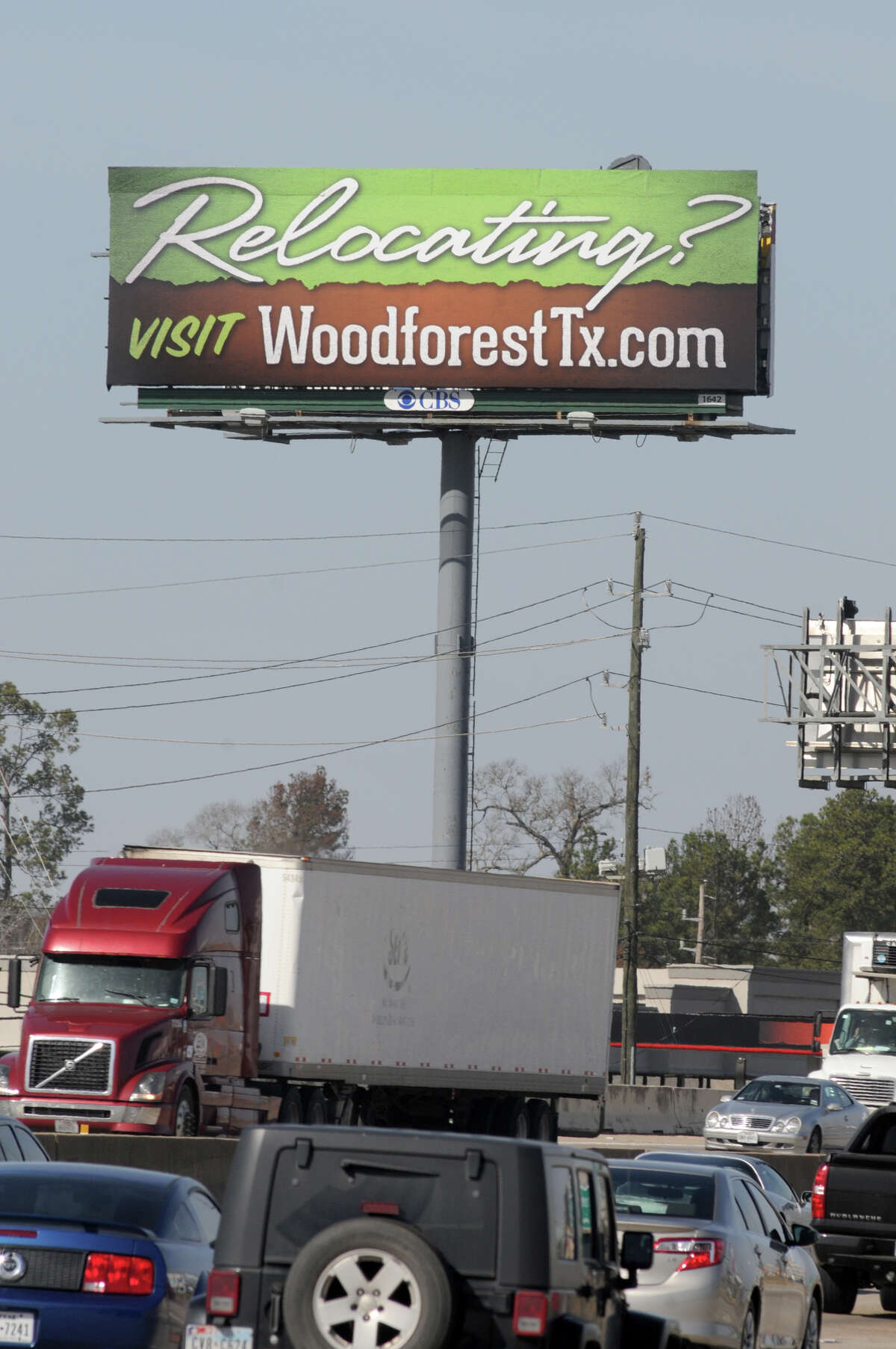 Woodforest area near The Woodlands.