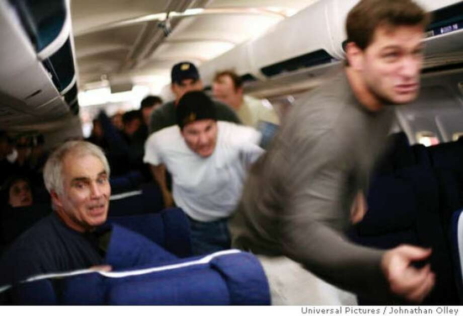 UNITED 93 -- For obvious reasons, this should never be seen on an airplane.