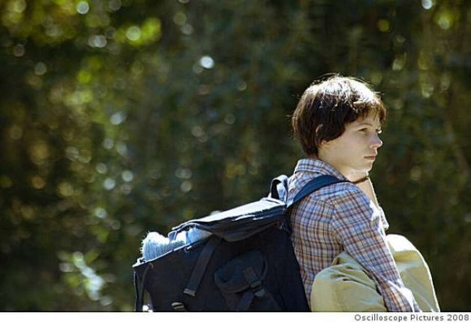 WENDY AND LUCY -- Fine Kelly Reichardt film that anticipated the Great recession -- but too quiet for up there.