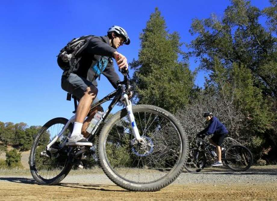 May is National Bike Month. Enjoy the spring weather and take go for a ride. Find out more about National Bike Month.  Photo: Brant Ward, The Chronicle