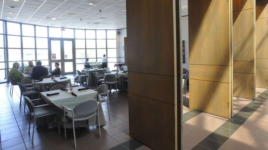 The Two Magnolias Cafe is located through these doors inside the Art Museum of Southeast Texas on Main Street in Beaumont. This is the restaurant of the week for the 10/04/12 edition of Cat 5. Dave Ryan/The Enterprise Photo: Dave Ryan/The Enterprise