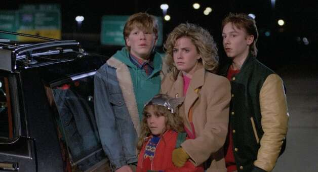 """""""Adventures in Babysitting"""" – When Chris agrees to baby-sit for the Andersons after her boyfriend stands her up, it's hardly the boring night she expected. Chris takes the kids along on an errand to downtown Chicago, but one flat tire leads to an outrageous all-night fiasco.Available Now! Photo: Netflix"""