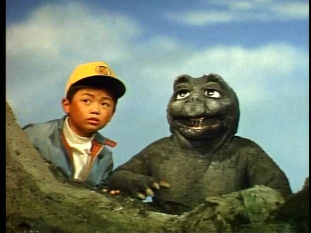 """""""Godzilla's Revenge"""" – With the aid of his vivid imagination, a bullied boy whisks himself away to the fantastical Monster Island, where he makes friends with Godzilla's son, Minya, and finally learns how to stand up for himself.Available Now! Photo: Netflix"""