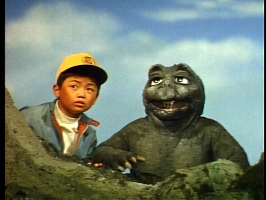 """Godzilla's Revenge"" – With the aid of his vivid imagination, a bullied boy whisks himself away to the fantastical Monster Island, where he makes friends with Godzilla's son, Minya, and finally learns how to stand up for himself. Available Now! Photo: Netflix"