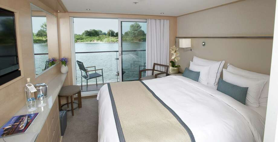 The new Viking Longship river cruise ships have many balcony cabins. Photo: Viking / Detroit Free Press / Detroit Free Press