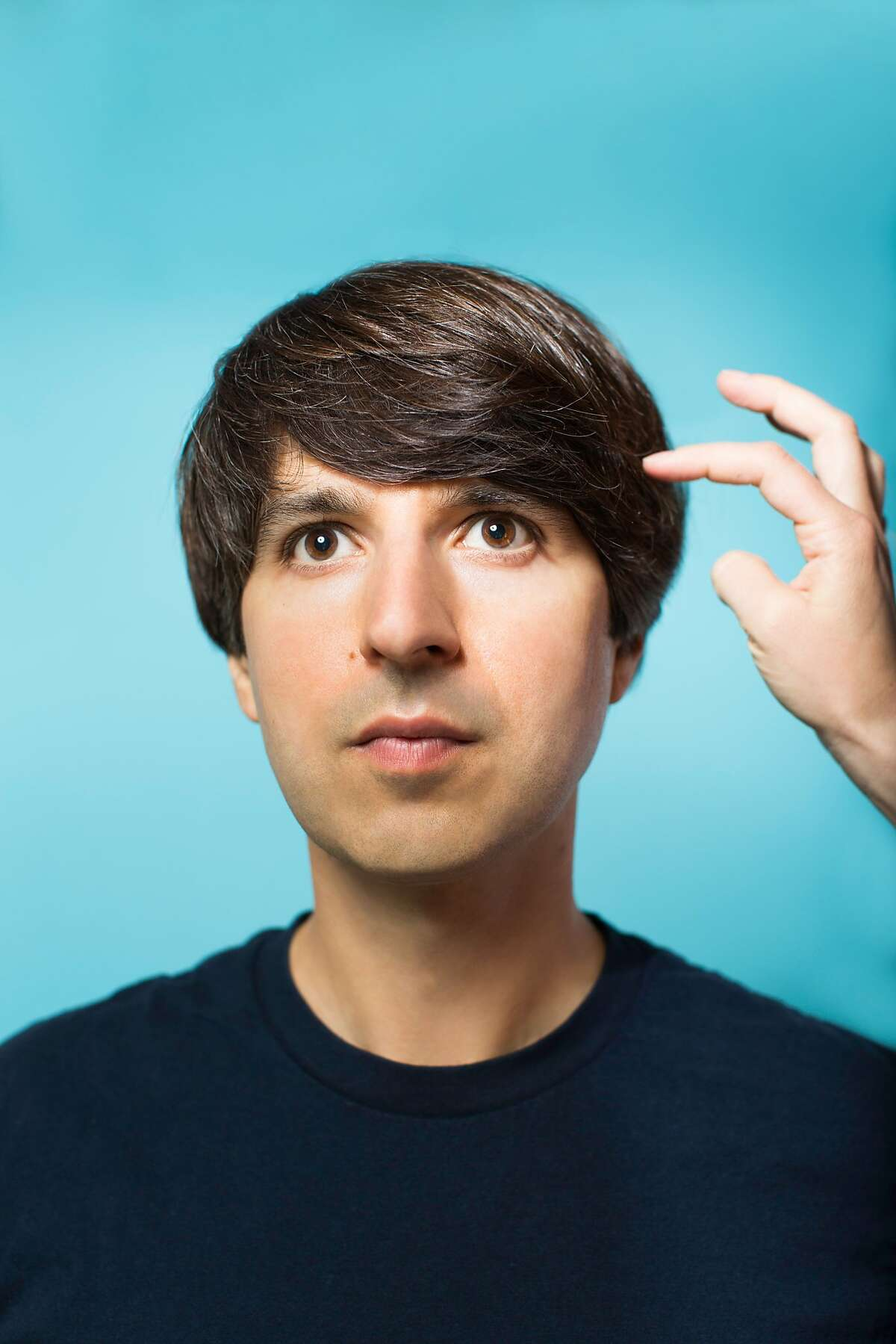Comedian Demetri Martin has written books, acted in movies and been a regular