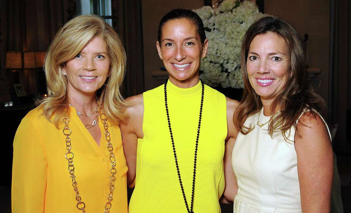 Melissa Schnitzer, from left, Lisa Holthouse and Lisa Eads