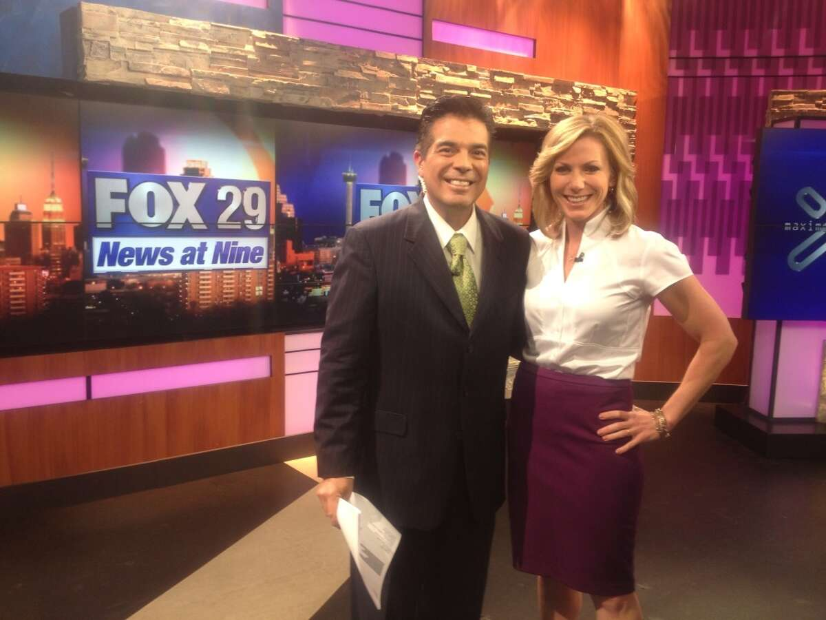 Cynthia Lee has co-anchored with Mike Valdes for many years.