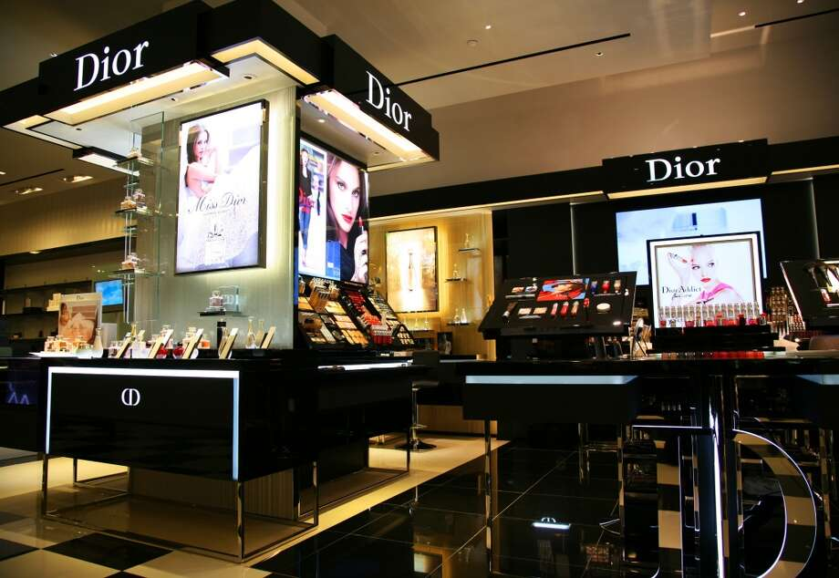 The new Dior boutique at Bloomingdale's on Market Street features a cutting-edge design installed at only a few stores in the nation. Photo: Courtesy Of Dior