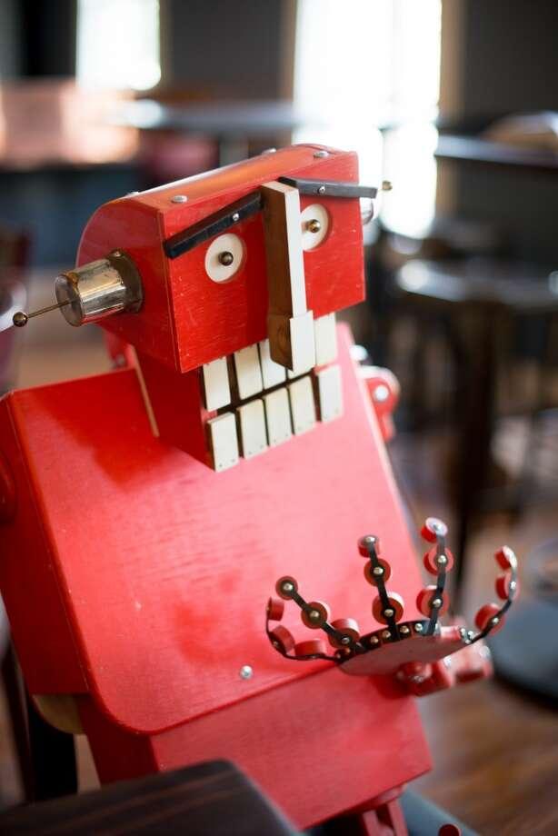 Robots. Photo: Kristen Loken