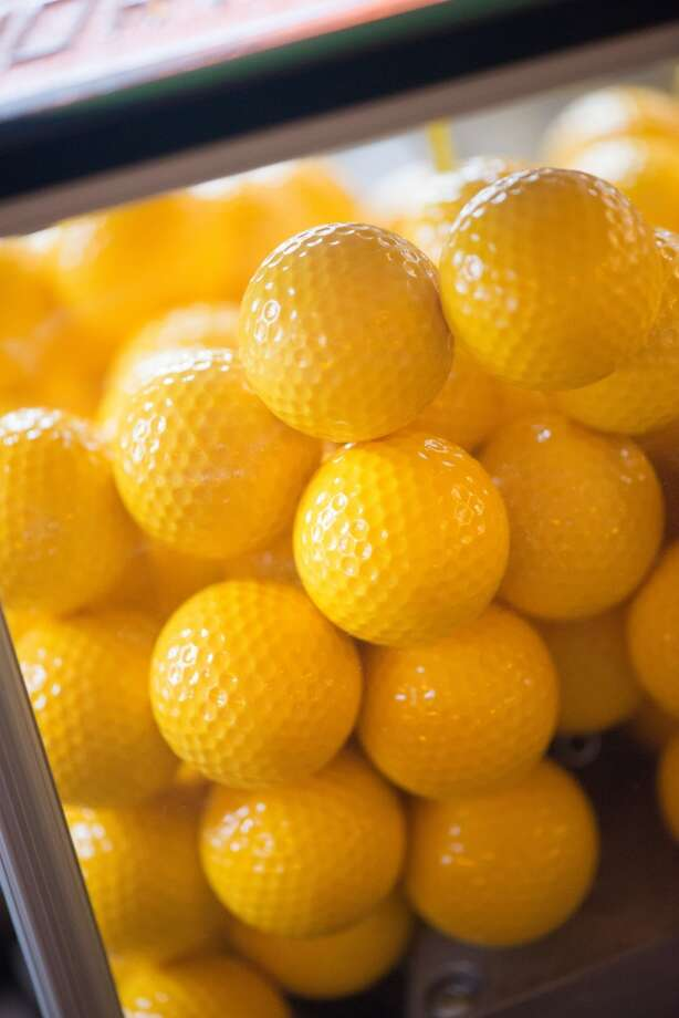 These would be yellow golf balls. Photo: Kristen Loken