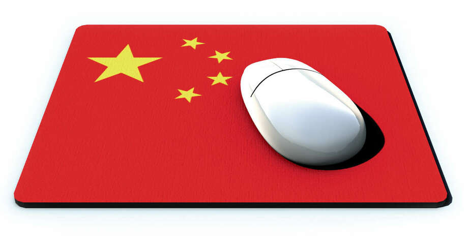 300 dpi 3 col x 3 in / 146x76 mm / 497x259 pixels Steve Wilson color illustration of a computer mouse on China flag mousepad. Fort Worth Star-Telegram 2005   KEYWORDS: china mousepad 1 2 mouse pad chinese flag investment import export trade technology computer online internet krtbusiness business krtnational national krtworld world krtintlbusiness krt comercio bandera tecnologia chino raton computadora enlinea negocios illustration ilustracion grabado china krtasia asia ft contributor coddington wilson 2005 krt2005 Photo: Steve Wilson / (c) KRT 2005