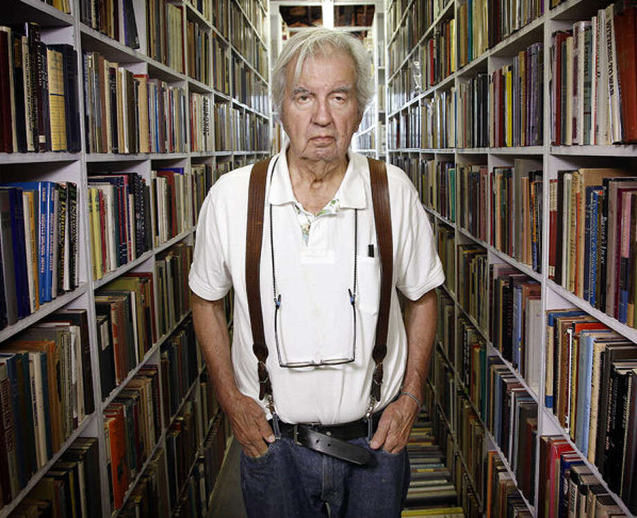 Texas author Larry McMurtry's latest novel was shelved for several years and almost didn't get published. Photo: David Woo / Dallas Morning News / 10014714A