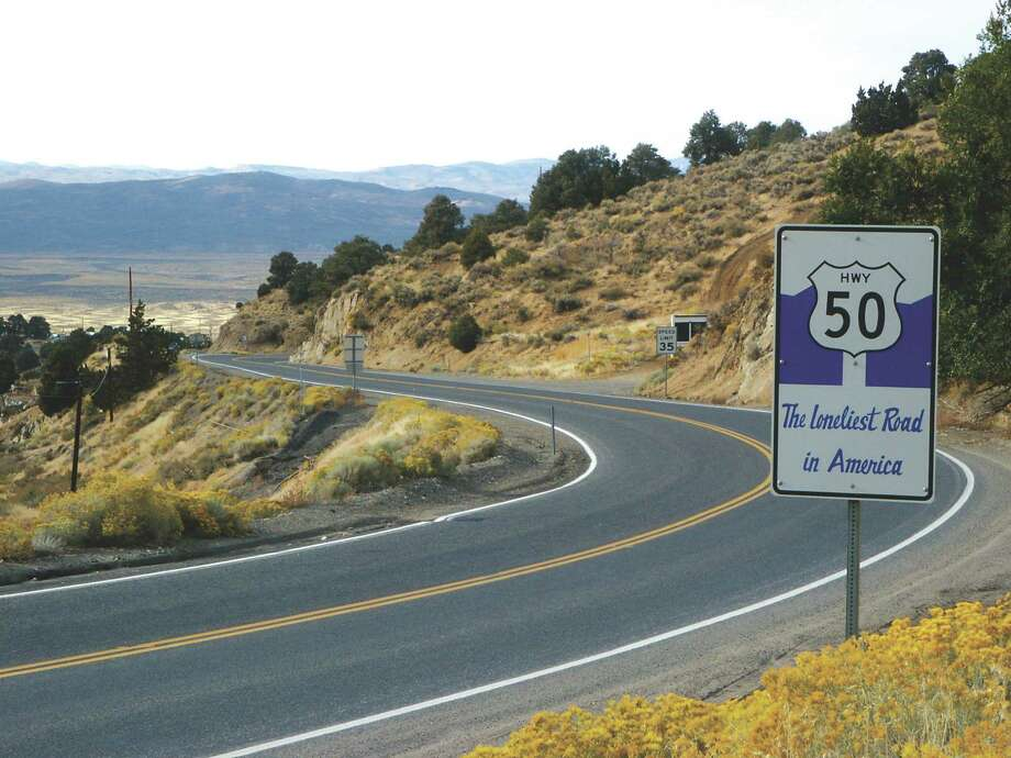 Highway 50 near Austin, NV. Photo: Nevada Commission On Tourism