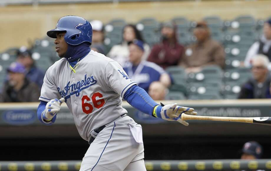 Yasiel Puig Photo: Ann Heisenfelt, Associated Press
