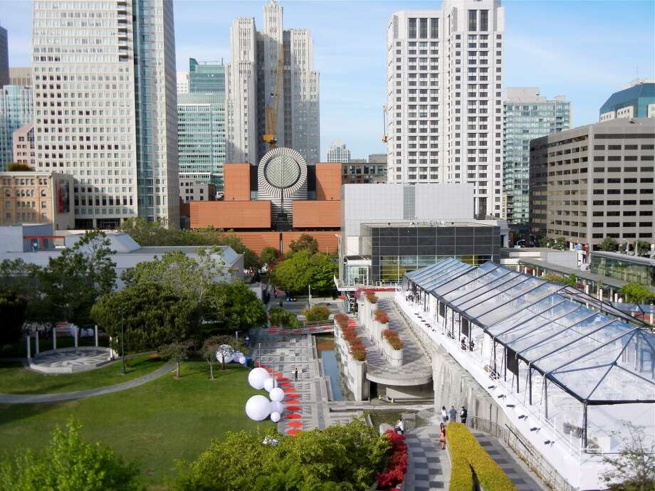 Yerba Buena Center for the Arts was transformed by designer Stanlee Gatti into a fantastical playland for the SFMOMA Modern Ball last night.
