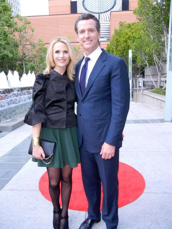 Jennifer Siebel Newsom and her husband, Lt. Governor Gavin Newsom.