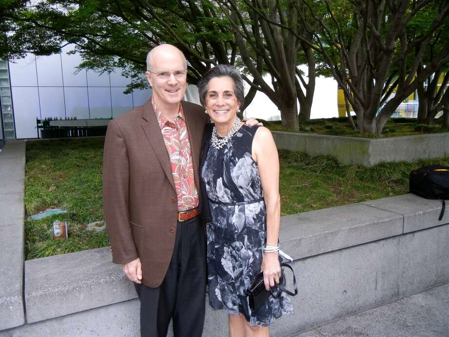 SFMOMA Trustee Mike Wilsey and his wife, Bobbie Wilsey.