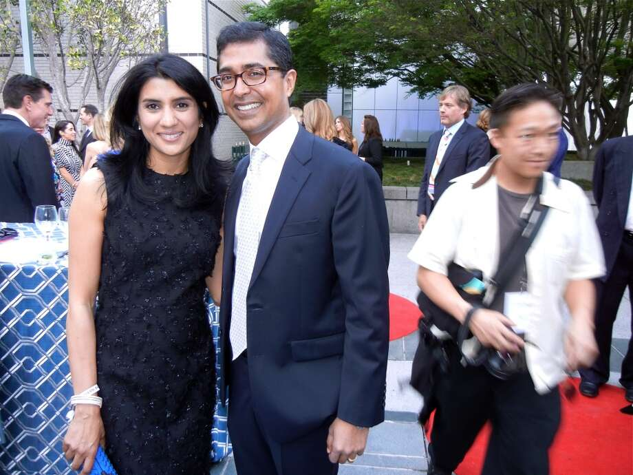 SFMOMA Trustee Alka Agrawal and her husband, Ravin Agrawall.