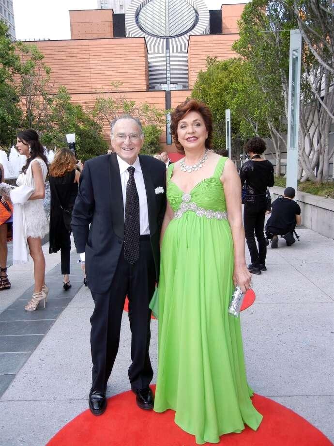 Jan Shrem and his wife, Maria Manetti Shrem.