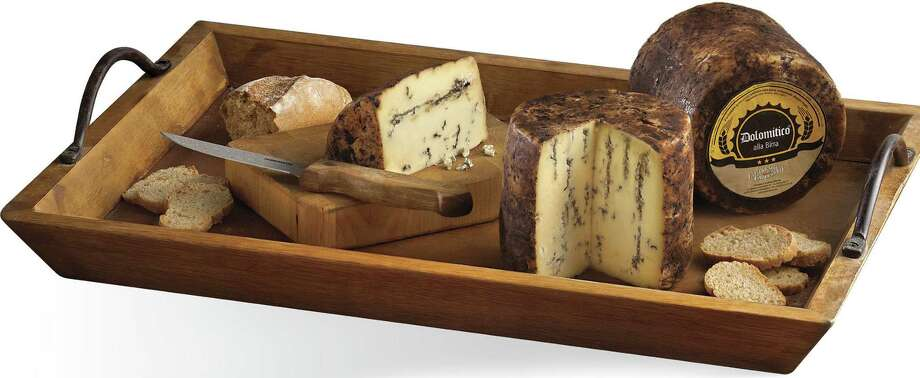 Dolomitico is a blue cheese soaked in Dolomites beer. (courtesy Central Market) Photo: Central Market