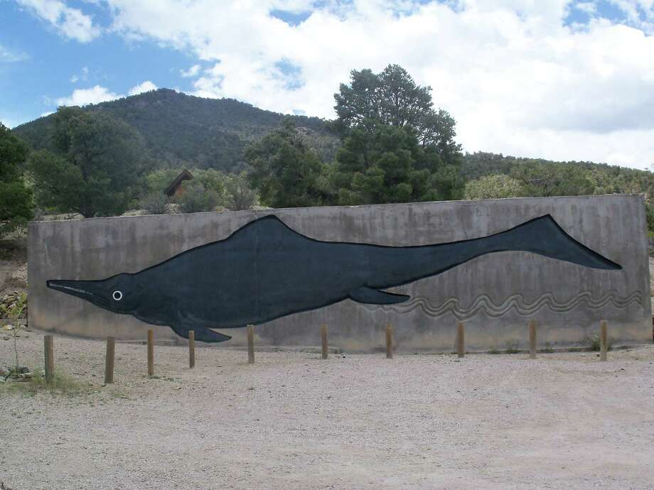 The Ichthyosaur in Berlin, NV. Photo: Nevada Commission On Tourism