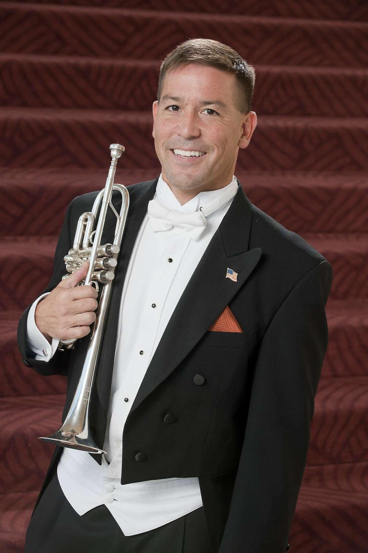 Trumpeter Mark Inouye