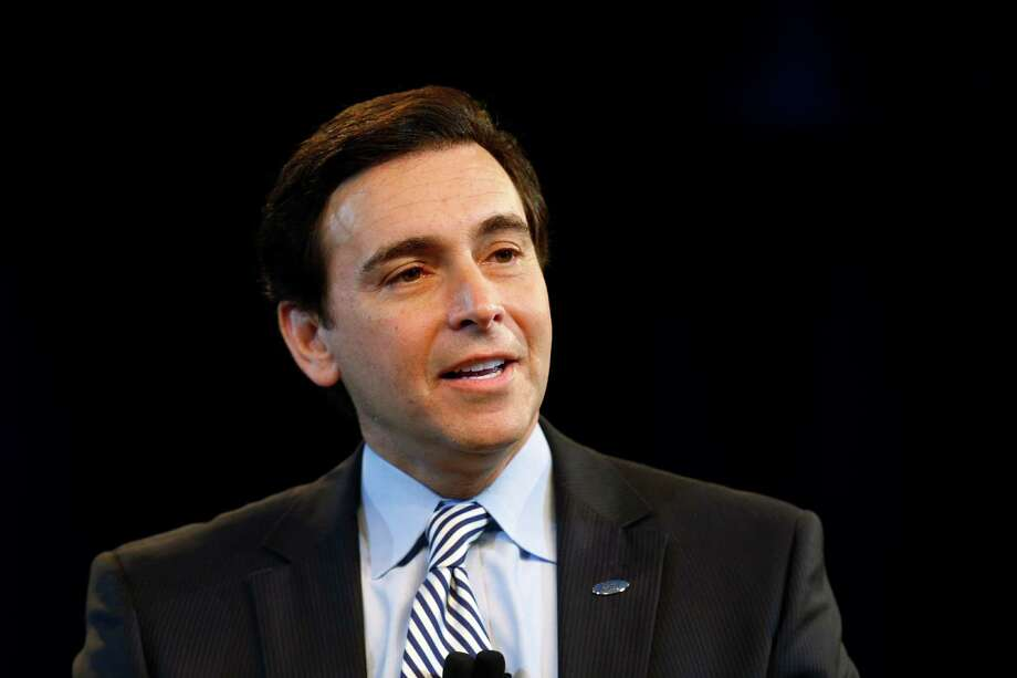 Ford Motor Company Chief Operating Officer Mark Fields speaks during a news conference in Dearborn, Mich., Thursday, May 1, 2014. Ford announced Fields will replace CEO Alan Mulally, who is retiring July 1. (AP Photo/Paul Sancya) ORG XMIT: MIPS104 Photo: Paul Sancya / AP