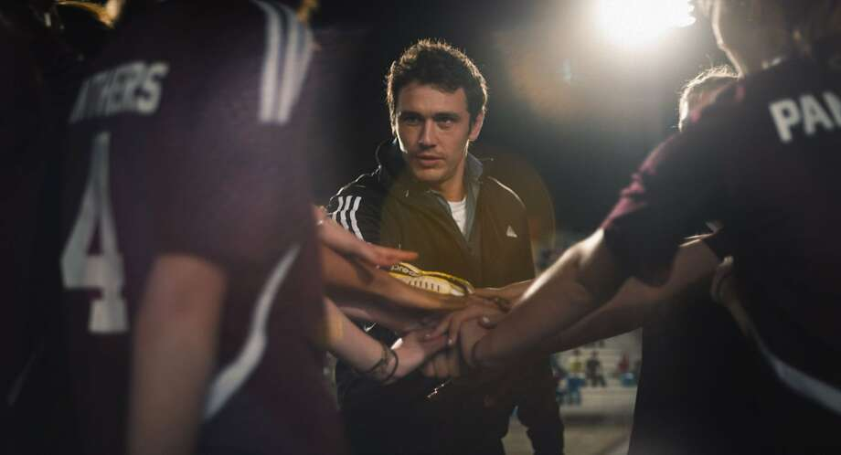 "In ""Palo Alto,"" based on his own stories, James Franco plays the coach of a girls' soccer team. Photo: Tribeca FIlm"