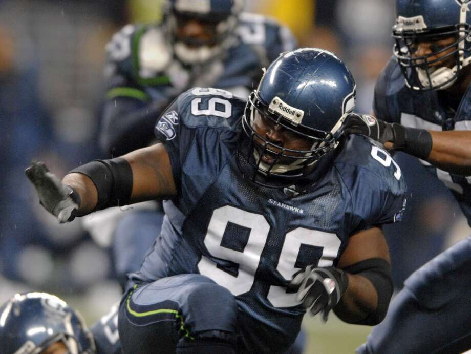 2002: Rocky BernardFifth round, 146th-overall pick | Position: Defensive tackle | College: Texas A&M  Bernard's career in Seattle started off slow, with just three starts in his first three seasons. But in 2005, when the Seahawks made their first super bowl, he started seven of his 16 games and finished the regular season with 8.5 sacks. He remained with the Seahawks through 2008, finishing his time in Seattle with 29 interceptions and 282 tital tackles. Bernard wrapped up his NFL career for four more seasons with the New York Giants. Photo: Kirby Lee, Getty Images
