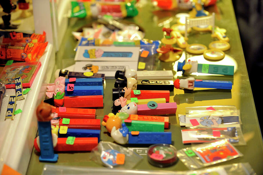 Scenes from the 16th annual Northeast PEZ Collectors Gathering at the Sheraton Stamford Hotel in Stamford, Conn., on Thursday, May 1, 2014. Photo: Jason Rearick / Stamford Advocate
