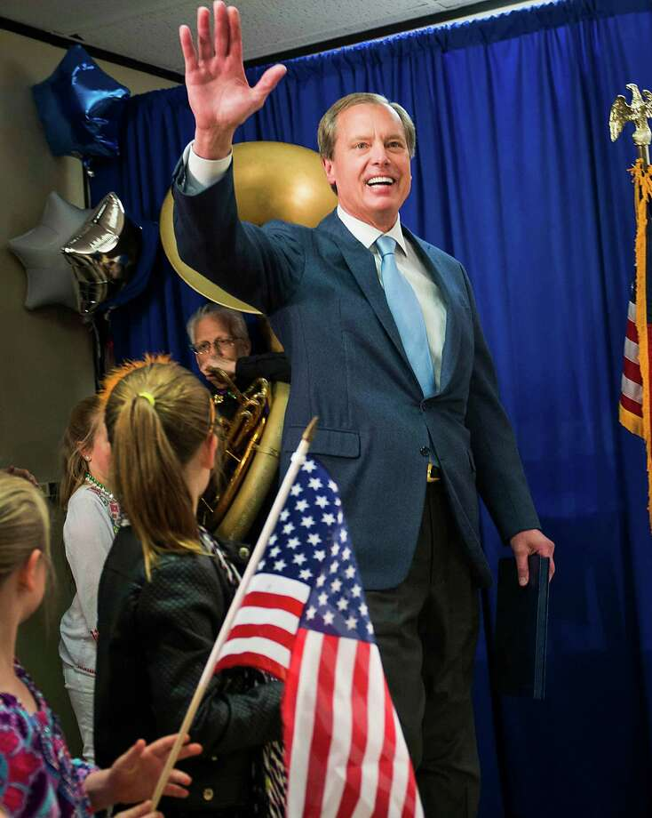 "Dewhurst: ""I've led. My opponent talks."" Photo: Smiley N. Pool, Staff / © 2014  Houston Chronicle"