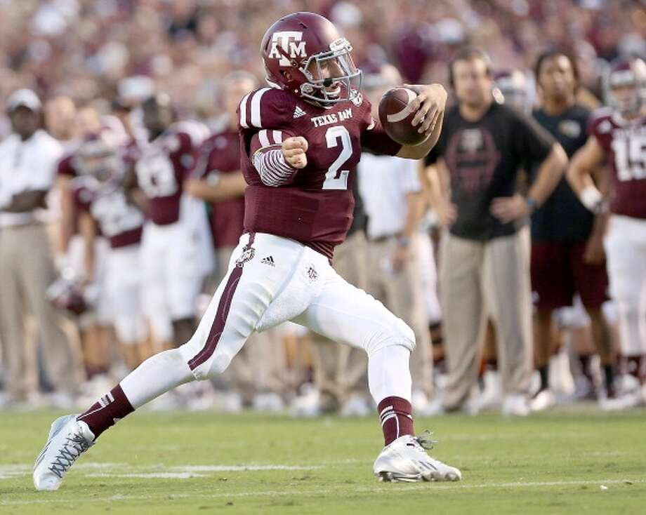 Johnny Manziel, Texas A&MProjection: 1st roundQB, 6-0, 207 Photo: Thomas B. Shea, Getty Images