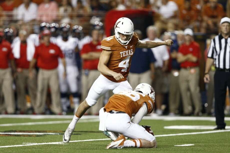Anthony Fera, TexasProjection:  5th or 6th roundK, 6-2, 211 Photo: Joe Robbins, Getty Images