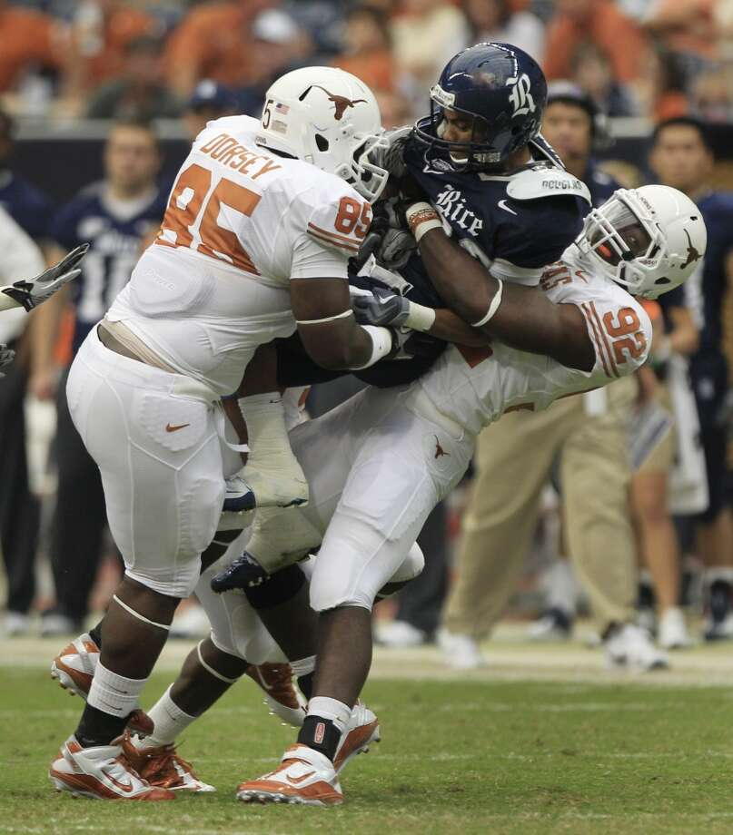 Reggie Wilson, TexasProjection: undraftedDE, 6-2, 258 Photo: Brett Coomer, Houston Chronicle