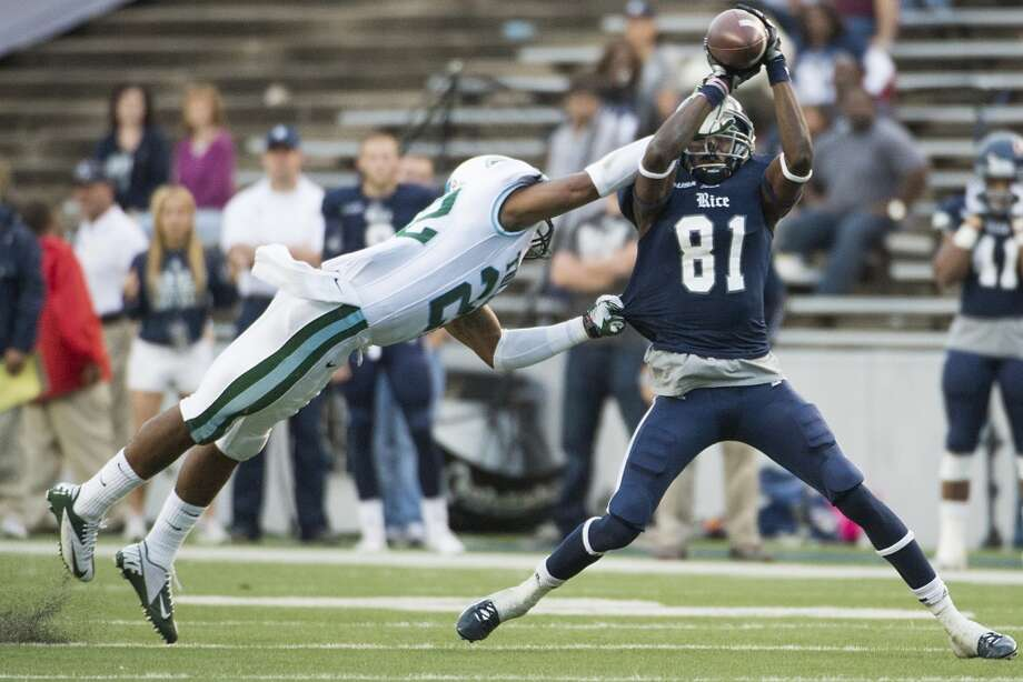 Donte Moore, RIceProjection: undraftedWR, 6-0, 176 Photo: Smiley N. Pool, Houston Chronicle