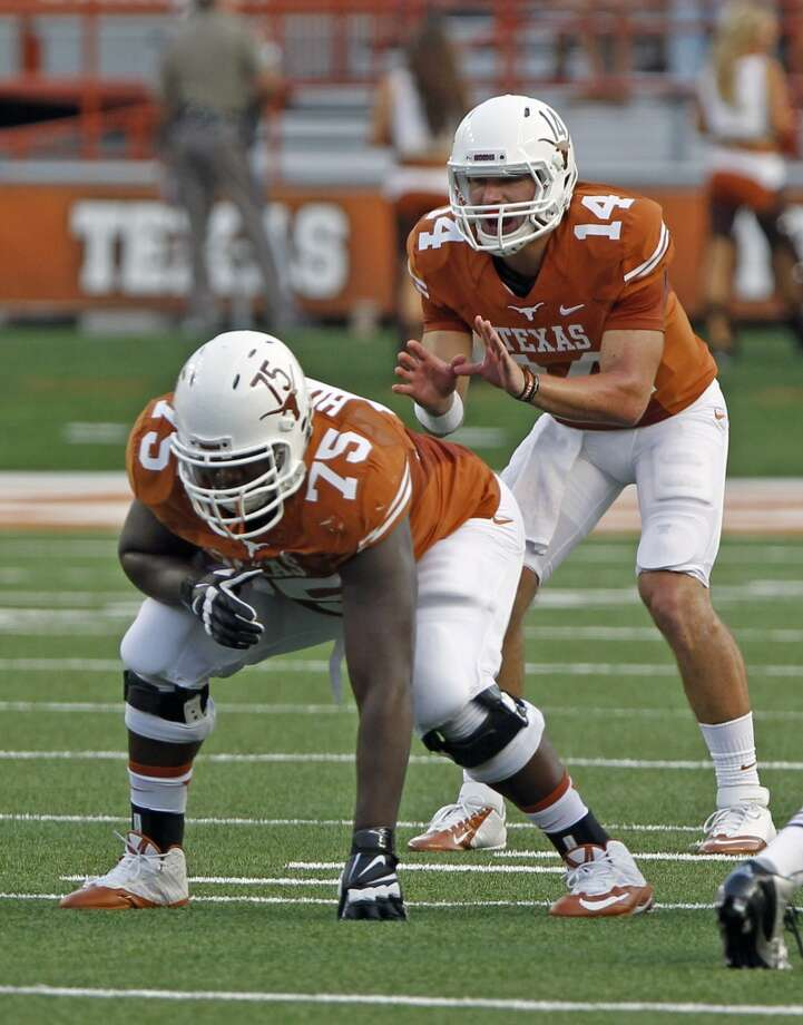 Trey Hopkins, TexasProjection: undraftedG, 6-2, 307 Photo: Michael Thomas, ASSOCIATED PRESS