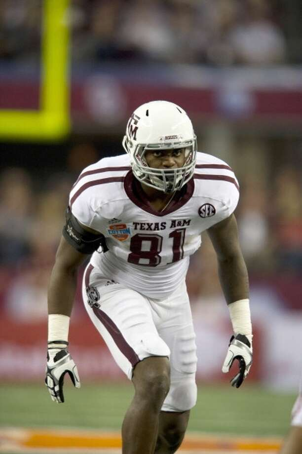 Nate Askew, Texas A&MProjection: undraftedTE, 6-3, 256 Photo: Cooper Neill, Getty Images