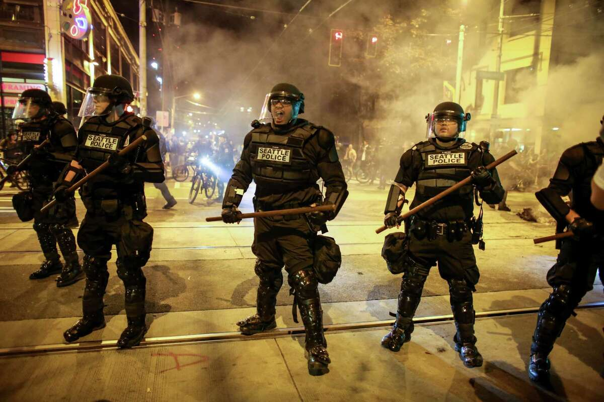 More than 100 police officers filed suit against city and federal officials claiming new federally mandated use of force policies are too complicated and restrictive, putting cops at fear for their own safety.