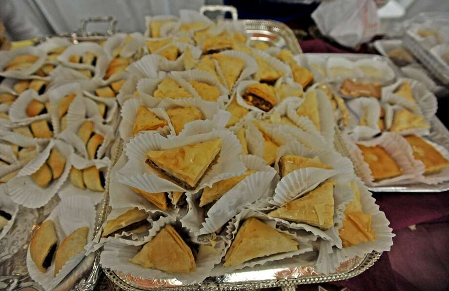 St. Michael Orthodox Christian Church held their Mediterranean Festival on Saturday, May 11, 2013, sharing the culture heritage, customs, food, music, and dance with their Southeast Texas friends. Photo taken: Randy Edwards/The Enterprise Photo: Randy Edwards