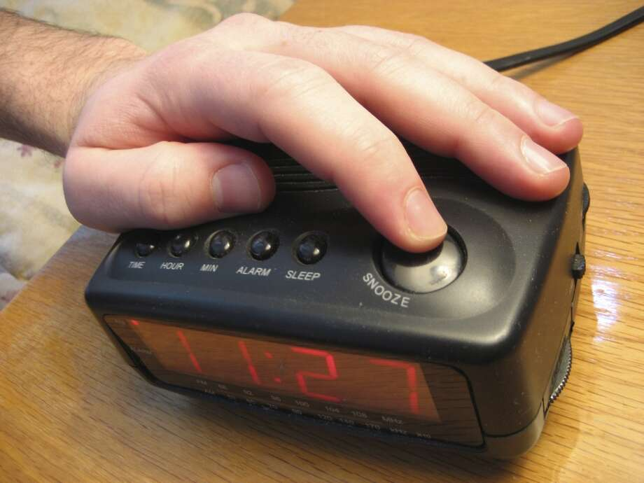 Alarm clockThe traditional alarm clock is on its way out, being replaced by the alarms built into cell phones. Photo: Istockphoto