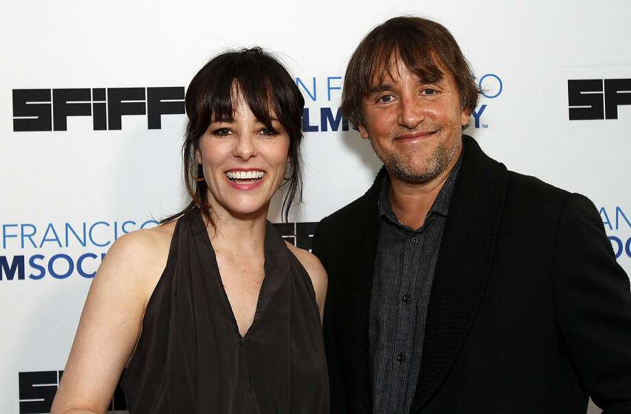 Parker Posey and Richard Linklater walk the red carpet at the San Francisco Film Society Awards Night in San Francisco, Calif., on Thursday, May 1, 2014.  Posey presented the Founder's Directing Award to Linklater. Photo: Sarah Rice, Special To The Chronicle