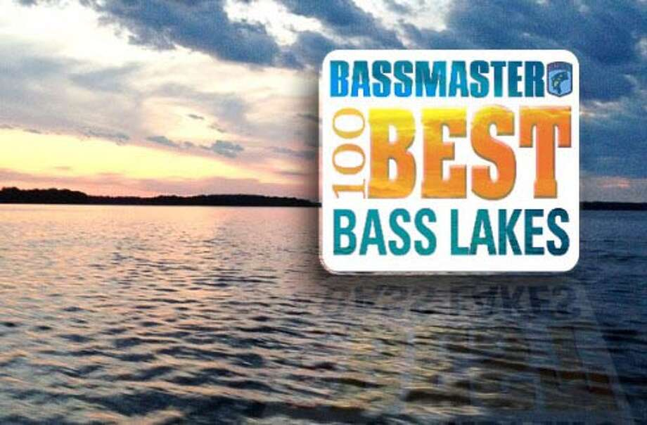 100 best Bass Lakes in the Country as ranked by Bassmaster magazine