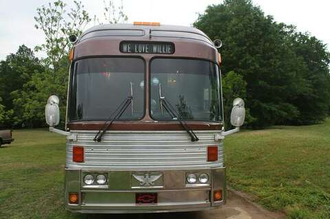 Willie Nelson Band's tour bus for sale on Craigslist - San