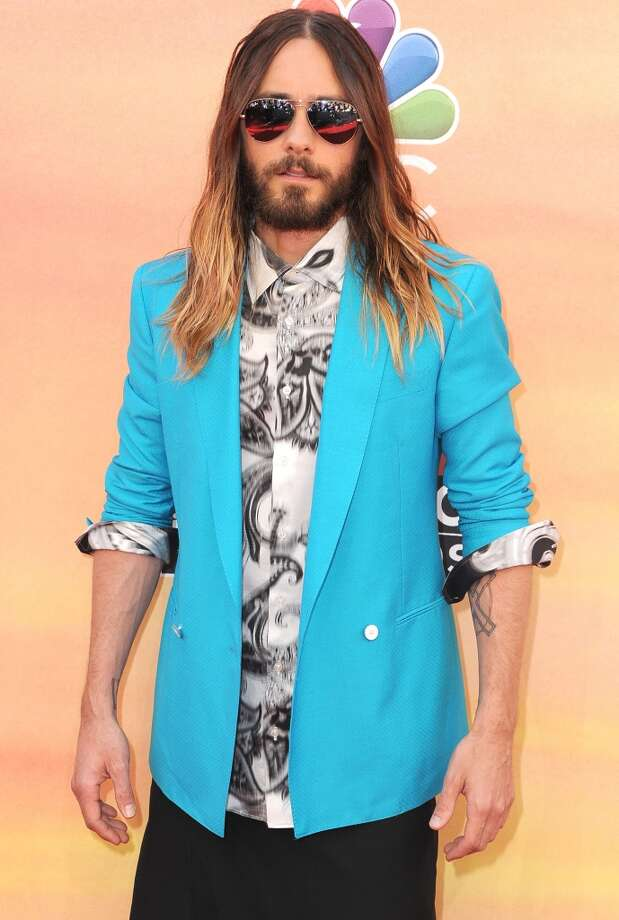 Jared Leto arrivals at the 2014 iHeartRadio Music Awards at The Shrine Auditorium on May 1, 2014 in Los Angeles, California. Photo: Steve Granitz, WireImage