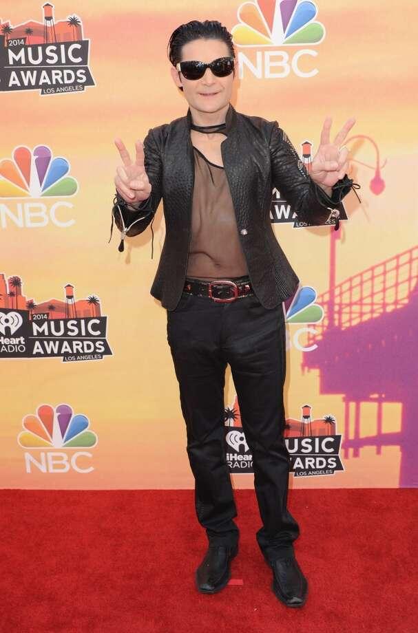 Actor Corey Feldman arrives at the 2014 iHeartRadio Music Awards at The Shrine Auditorium on May 1, 2014 in Los Angeles, California. Photo: Jon Kopaloff, FilmMagic