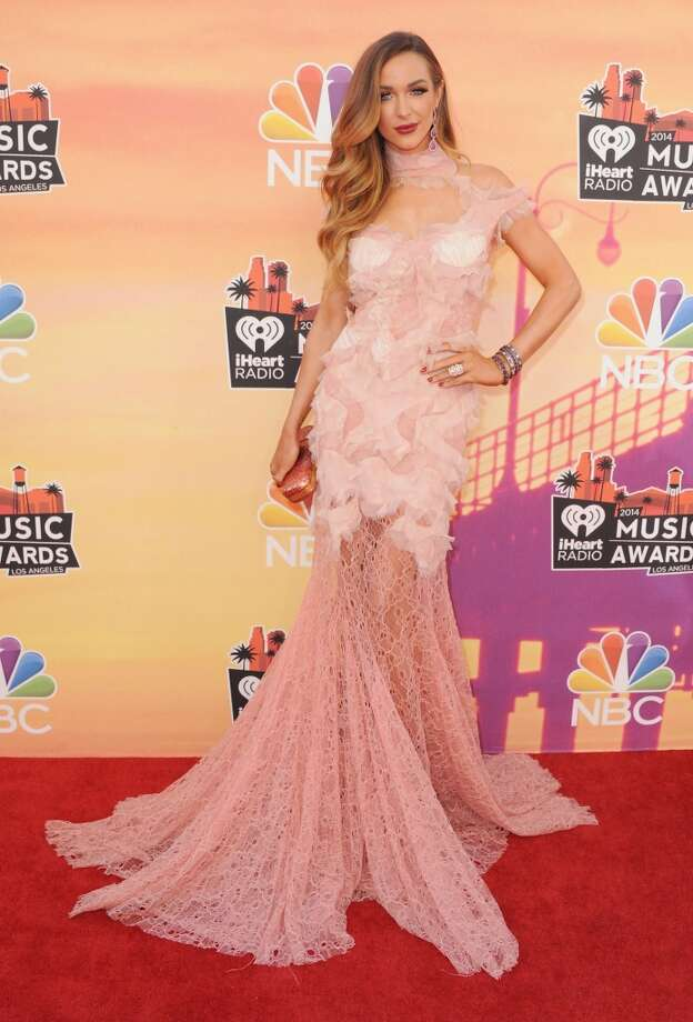 Model Courtney Bingham arrives at the 2014 iHeartRadio Music Awards at The Shrine Auditorium on May 1, 2014 in Los Angeles, California. Photo: Jon Kopaloff, FilmMagic