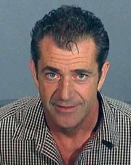 FILE - In this photo released by the Los Angeles County Sheriff's Department shows actor-director Mel Gibson in a booking photo taken July 28, 2006, after his arrest on drunken driving charges. Gibson has defended himself against accusations of anti-Semitism ever since the arrest, in which a deputy's report revealed Gibson made Jewish and sexist slurs while in custody. (AP Photo/Los Angeles County Sheriff's Department, File)