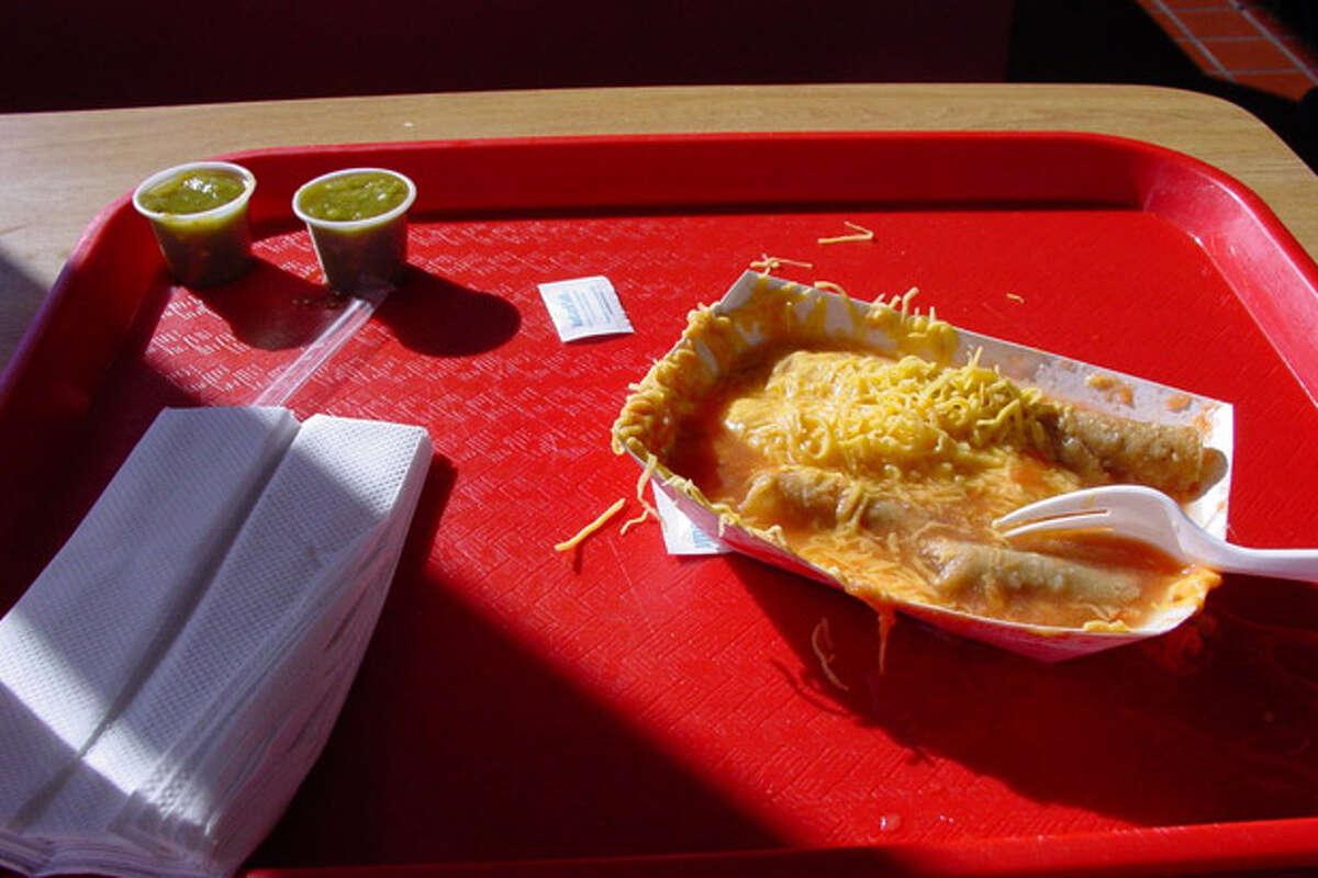 9. Chico's Tacos, El Paso, Texas: Chico's Taco (pictured)