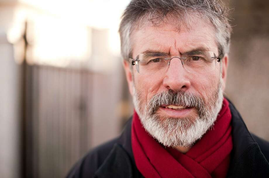 Gerry Adams is being questioned in a '72 murder. Photo: Leon Neal, AFP/Getty Images